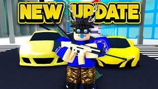 NEW VEHICLES & WEAPONS UPDATE! (ROBLOX Mad City)