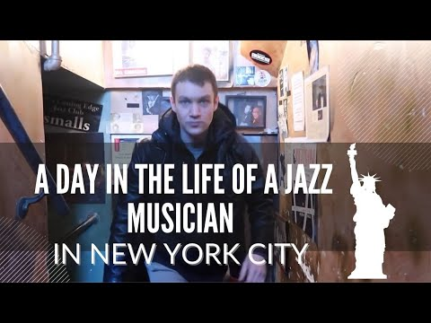 A Day in The Life of a Jazz Musician in New York City- VLOG #4