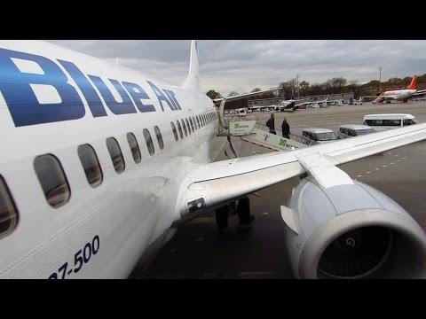 TRIP REPORT | Blue Air 737-500 | Turin to Berlin TXL | AMAZING FLIGHT! [Full HD]
