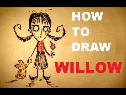 How To Draw Willow - Don't Starve