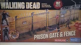 Unboxing: Twd Prison Gate & Fence