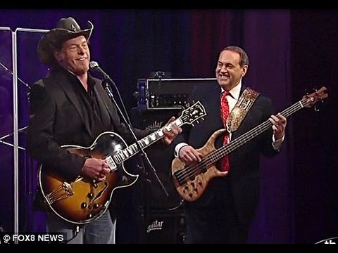 """Mike Huckabee To Ted Nugent: """"Turn Your Hunting Dog 'Loose On Some Democrats'"""
