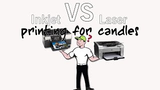 transfer a photo to a candle laser or inkjet printer