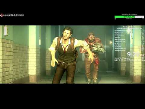 The Evil Within NG Nightmare Speedrun 2:51:43 World Record