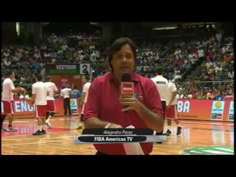Centrobasket 2014 - Post-Juego - Bronce - República Dominicana vs. Cuba