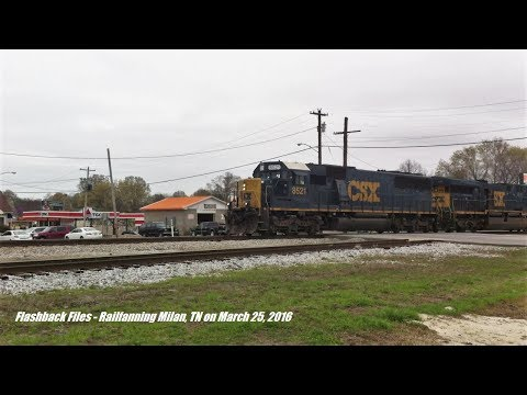 Flashback Files: Railfanning Milan, TN On March 25, 2016