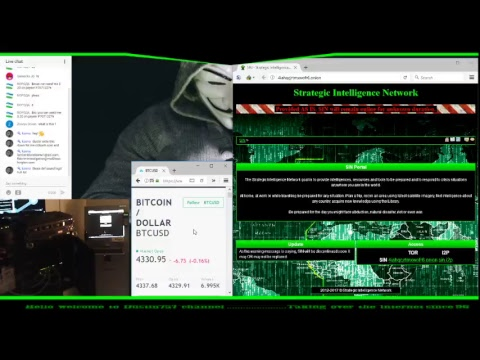 24/7 Live Stream Server Farm : Mining Bitcoins and Watching