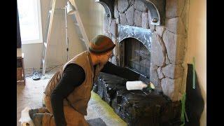 Как облицевать камин. Полезные советы(Облицовка камина. Посмотрите интересный пример как своими руками облицевать камин камнем http://dachasvoimirukami.ru/pag..., 2014-07-30T09:50:37.000Z)