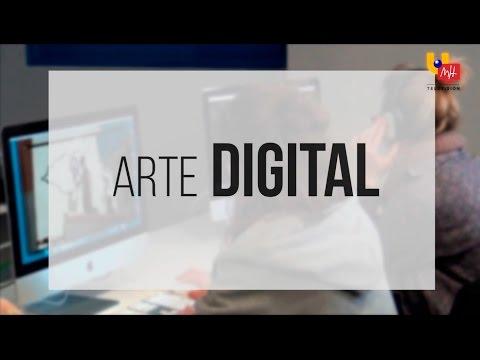 """08.04.2016 - REPORTAJES UMH TV """"Arte digital"""""""