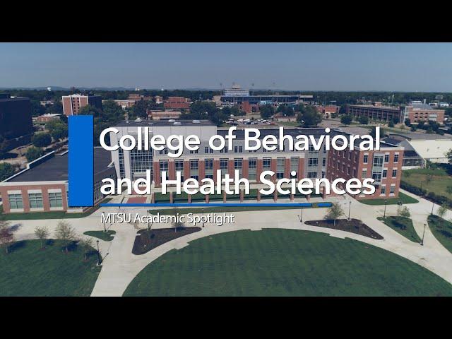MTSU Academic Spotlight | College of Behavioral and Health Sciences