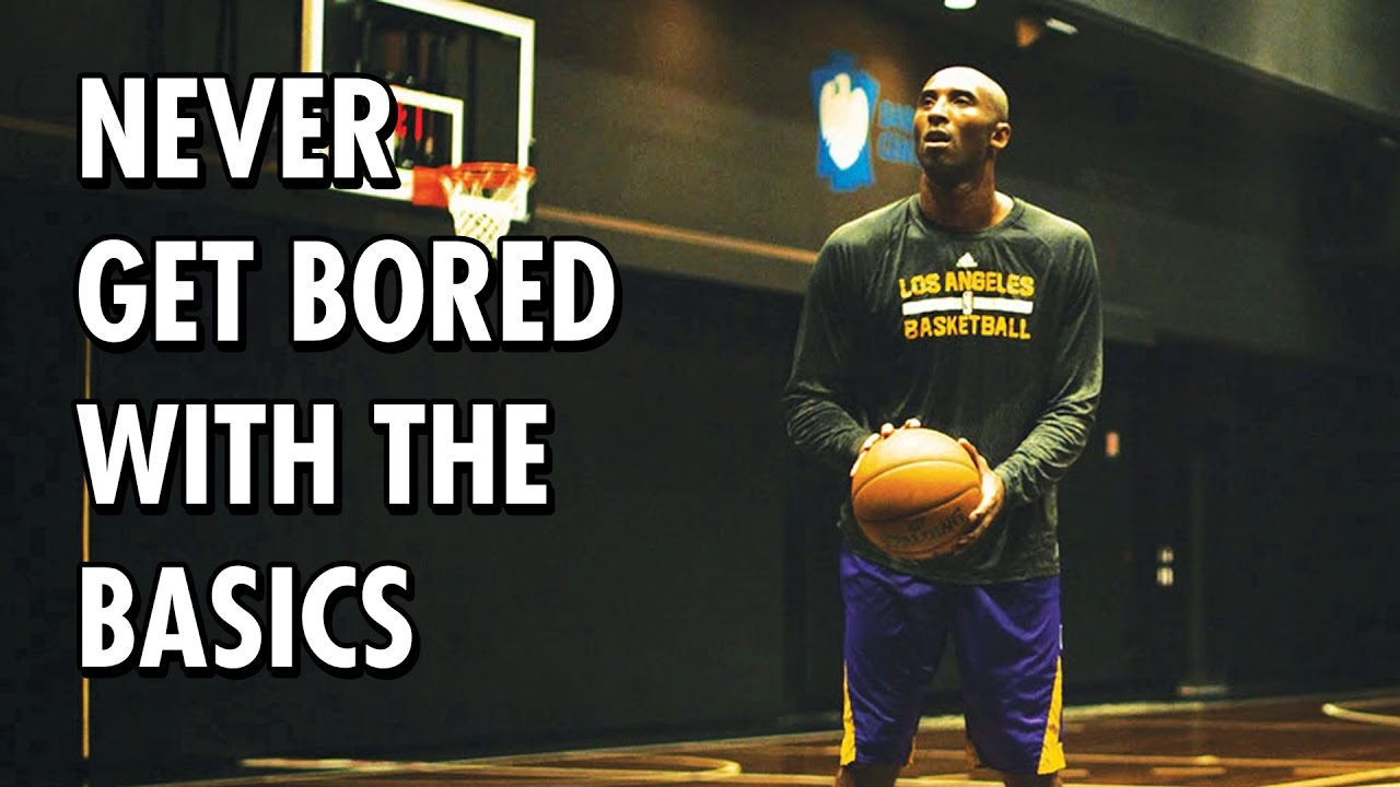 Motivational Wallpaper Quotes Kobe Kobe Bryant Never Get Bored With The Basics Youtube