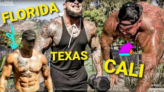 WHO HAS THE STRONGEST ARMS: CALIFORNIA, TEXAS OR FLORIDA?