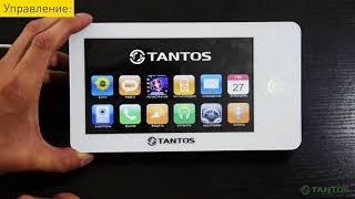 Установка видеодомофона TANTOS NEO Slim производителя Tantos