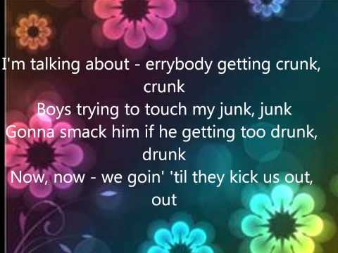 Kesha- Tick Tock Lyrics (HD)