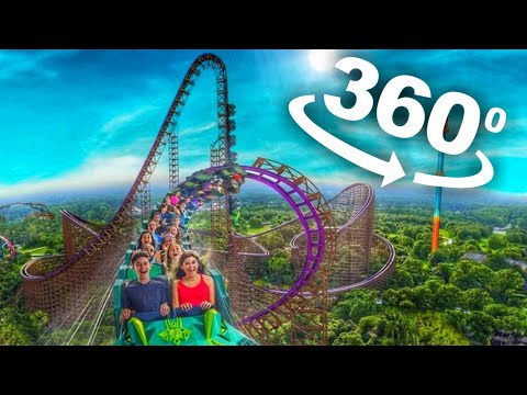 VR 360 Roller Coaster VR Video 360 4K [Google Cardboard VR Box 3D] Virtual Reality Videos 360 VR 4K
