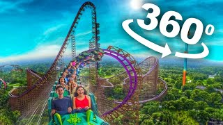 360 Roller Coaster Rides 4K - Germany Amusement Park Videos 360°