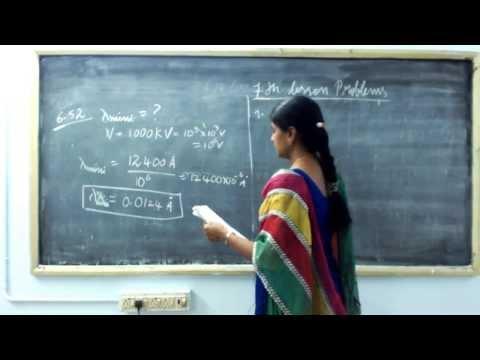 TN STD 12 Physics - 6 Atomic Physics Problems 2