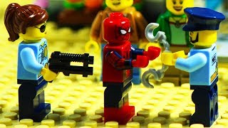 Lego Spiderman Prison Break - Home Robbery Part 1 - 2
