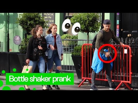 Protein Shaker Prank (FUNNIEST REACTIONS!)