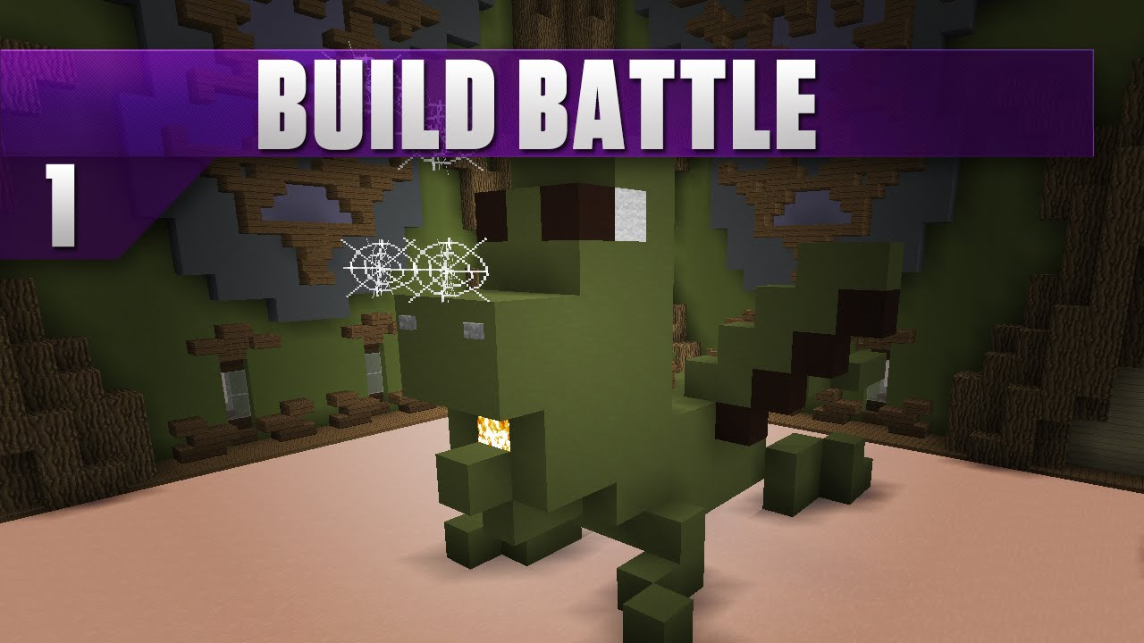 A picture of Hypixel Build Battle.