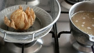 Рецепт  Хрустящий Лук в кляре  луковые чипсы очень вкусно необычно просто