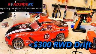 $300 RWD RC Drift Car Build   RC Drift Intro   Sakura D5S