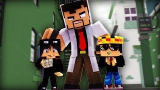 Minecraft 2 MEIOS E 1 HOMEM - O BEBÊ MAIS RICO DO MUNDO