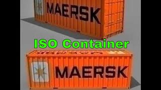 3D Model ISO Container