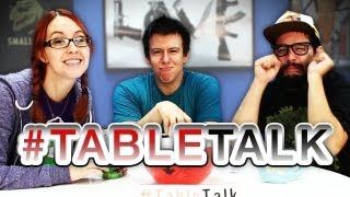 Celebrity Lookalikes, Feel Good Movies and Real Thought Bubbles on #TableTalk!
