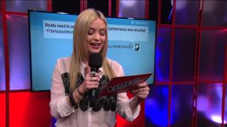 Laura Whitmore covers for Eoghan - The Voice of Ireland Series 3 Ep 12