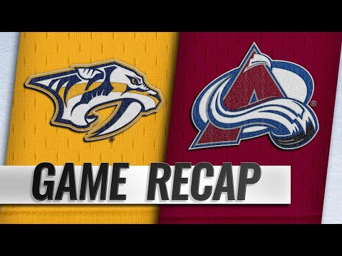 Sissons' hat trick powers Predators to 4-1 win