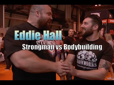 Eddie Hall Uk strongman interview