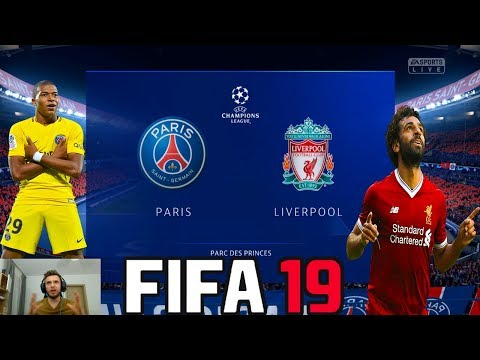 Duelul Gigantilor In Champions League - PSG vs Liverpool - FIFA 19 Cariera Cu PSG #9