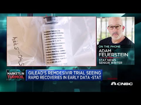 Gilead Sees Positive Results From Remdesivir Trial: Stat News