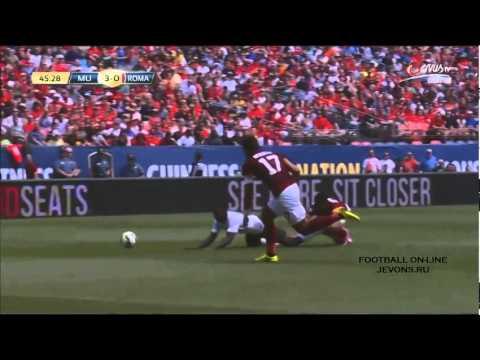 Manchester United vs AS Roma (3-2)- Club Friendly - Agen Bola