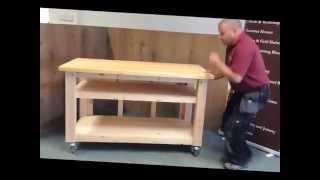 Bespoke Fabric Cutting Table