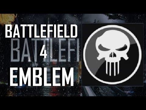 Battlefield 4 / BF4 : Deadpool Emblem Tutorial   FunnyDog TV