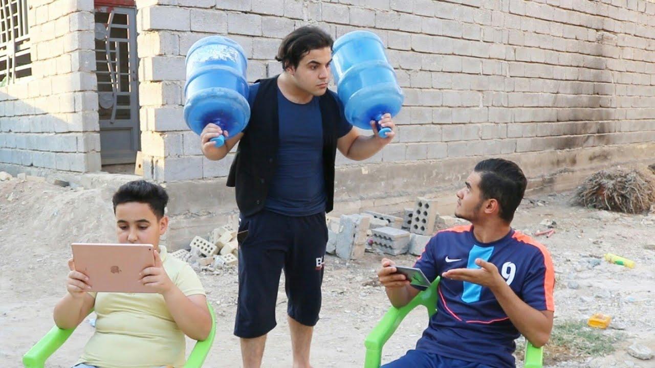 دزيت اخواني #عبوسي وحمودي يترسون دبات مي وراحو يلعبون بوبجي😂