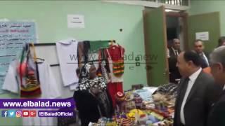 افتتاح معرض المصنوعات اليدوية والمنتجات الزراعية للمدن الحدودية.. 'فيديو'