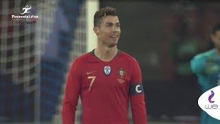 بالفيديو – البرتغال ترد.. السعيد يحرم رونالدو بهدف من عند خط المرمى