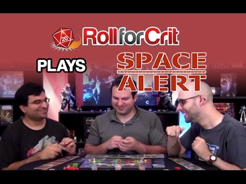 Enemy Threat Detected! | Space Alert | Roll For Crit Playback