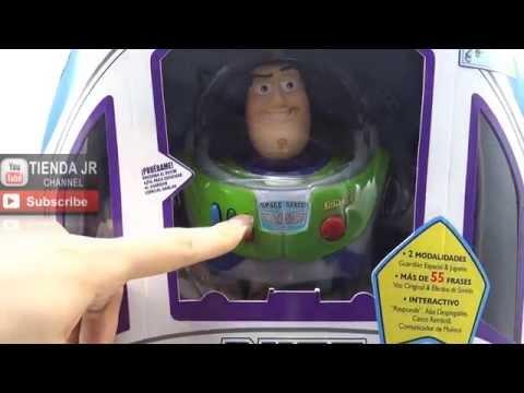 Muñeco Buzz Lightyear Juguete Original Disney Toy Story Interactivo Español 55 Frases Sensores