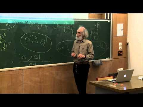 Mikhael Gromov - 4/6 Probability, symmetry, linearity
