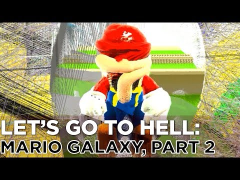 Nick and Griffin Turn Mario into Spin Art in SUPER MARIO GALAXY, Part 2 — Let's Go To Hell