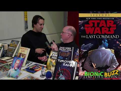 Timothy Zahn Interview at Comic Con Revolution Ontario