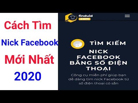 Cách tìm tài khoản Facebook bằng SĐT mới nhất 2020 thành công 100%