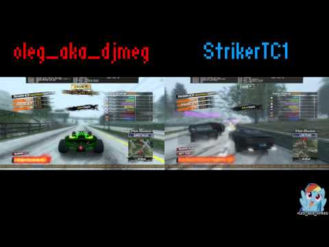 Burnout Paradise - Timed Challenges Splitscreen /w StrikerTC1