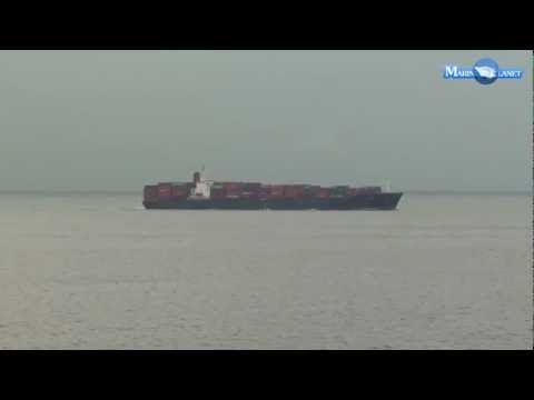 MERCHANT NAVY ELBE CONTAINER SHIP VIDEO