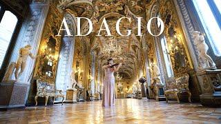 J.S. Bach - Sonata No. 3 in C major - Adagio - SongHa Choi, violin - Galleria Doria Pamphilj
