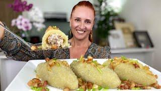 БЕЗ МУКИ и ЯИЦ Блюдо из картофеля с фаршем ЦЕППЕЛИНЫ Очень вкусно Люда Изи Кук potato meat dishes